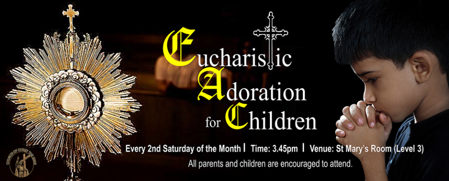 Eucharistic Adoration for Children