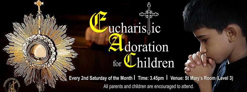 Eucharistic Adoration for Children