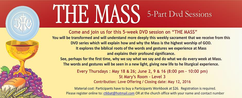 The Mass – 5 Part DVD Series
