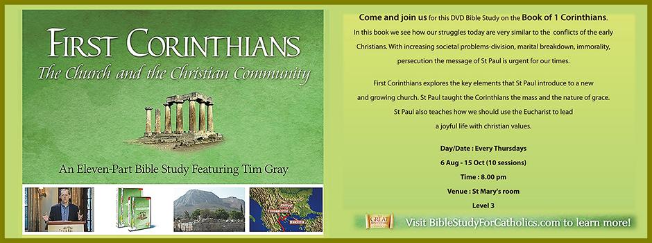 1 Corinthians DVD Bible Study