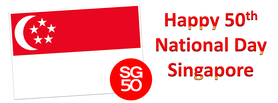 Singapore 50th National Day