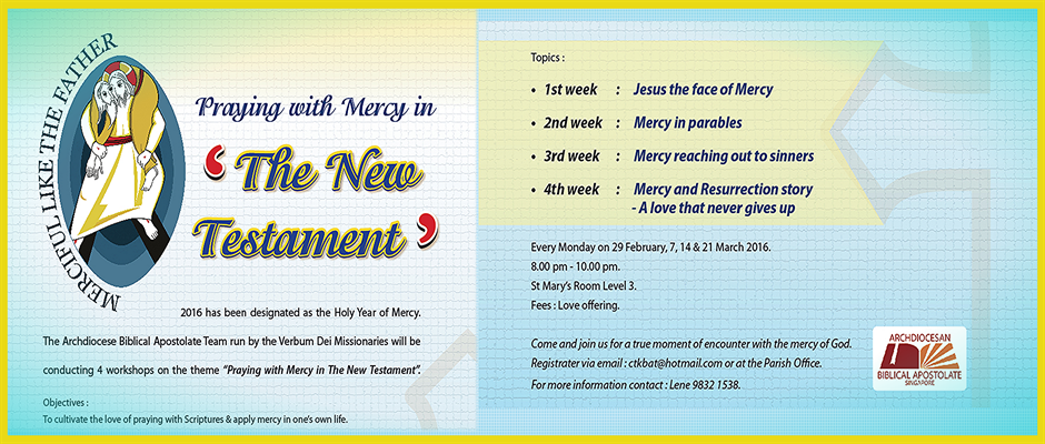 Praying with Mercy in the New Testament
