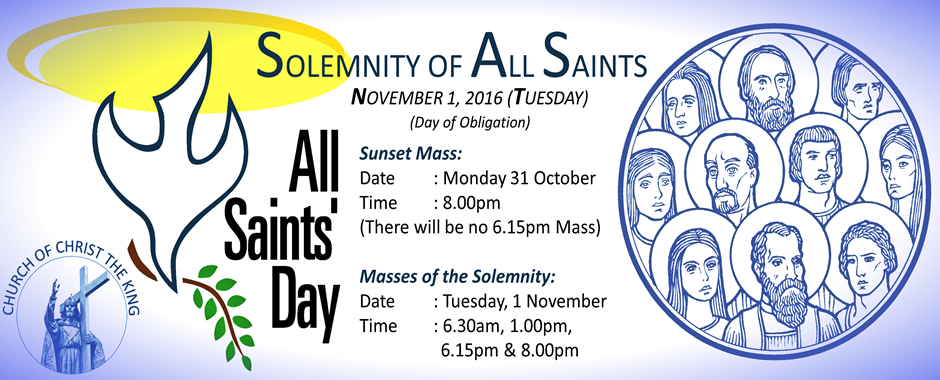 All Saints Day 2016