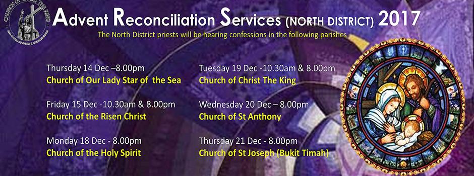 Advent Reconciliation Services – 2017