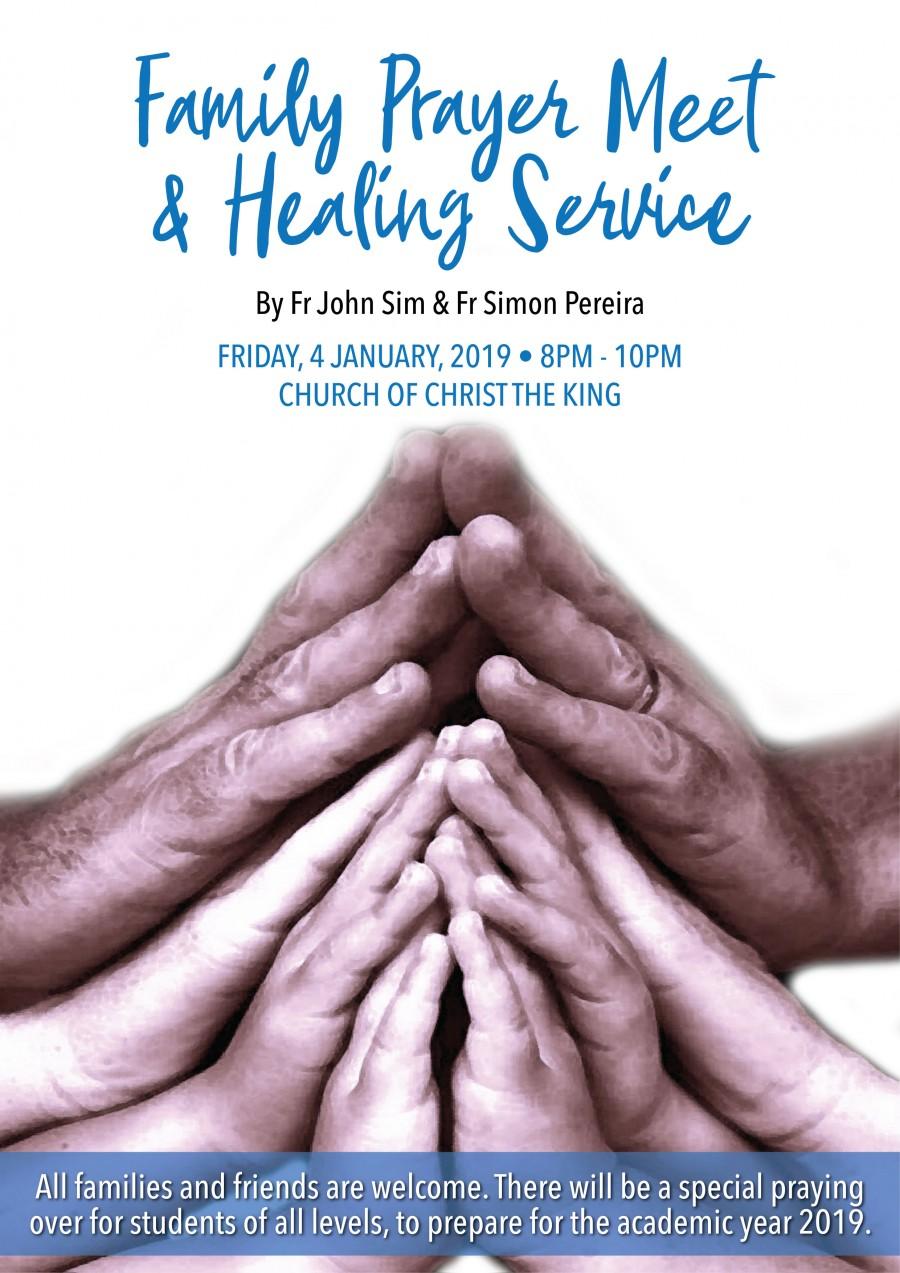 Family Prayer Meet & Healing Service